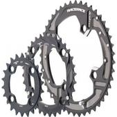 RaceFace Race Face Turbine 9-Speed Chainring Set, 104mm x 64mm 22/32/44 Black