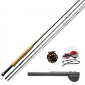 Redington 690-4 Fly Fishing Topo Outfit 4Pc 6Wt 9'0''