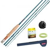Redington Crosswater Fly Rod Outfit 690-4 w/ Crosswater 4/5/6 Reel 6WT 9'0'' 4PC