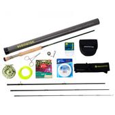 Redington Torrent 890-4 Fly Rod and Reel Outfit