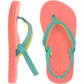 Reef Little Stitched Cushion Sandals for Kids