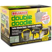 Reliance Double Doodie Waste Bags with Bio-Gel