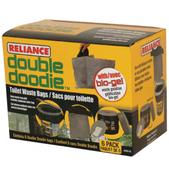 Reliance Products Double Doodie Bag With Bio Gel