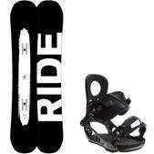 Ride Burnout Wide Snowboard w/ K2 Lien AT Bindings