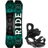 Ride Helix Snowboard w/ K2 Lien AT Bindings