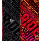 Ride Kink Snowboard 143 - Men's