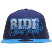 Ride Script New Era Cap Navy