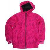 Ride Shelby Snowboard Jacket Camo Leopard Print Vivid Magenta