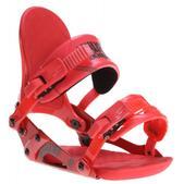 Ride VXn Snowboard Bindings Strawberry