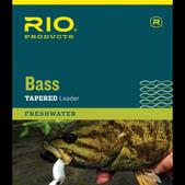 RIO Bass Leaders 9Ft 10Lb 3-Pack