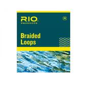 RIO Braided Loops for Regular Fly Lines 3-6 4 Pack