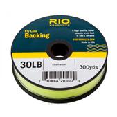 RIO Fly line Backing 30Lb 300Yd Chartreuse
