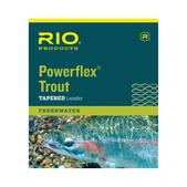RIO Powerflex Knotless 12FT 0X Leaders 3 Pack