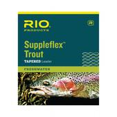 RIO Suppleflex Trout 9Ft 6X 3.0Lb Leader Soft Material Fly Fishing