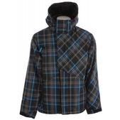 Ripzone Foreman Snowboard Jacket Black Plaid