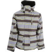 Ripzone Sentinel Snowboard Jacket Sulphur Combo