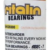 Ritalin Abec 7 Chrome Skateboard Bearings