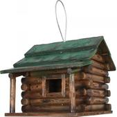 River's Edge Log Cabin Birdhouse 624