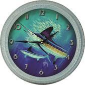 "River's Edge New Guy Harvey 25"" Xl Marlin Clock 1055"