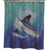 River's Edge New Guy Harvey Shower Curtain 764