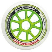 Rollerblade 6x110mm 2x100mm 85A Inline Skate Wheels - 8 Pack 2015