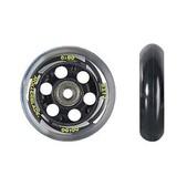 Rollerblade 80mm-82A Inline Skate Wheels with SG7 Bearings - 8pack 2015
