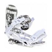 Rome 390 Snowboard Bindings White