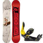 Rome Artifact Snowboard w/ Rome Arsenal Bindings