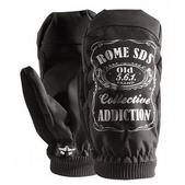 Rome Old No. 561 Snowboard Mitts Black