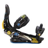 Rome S90 Snowboard Bindings Blue/Yellow