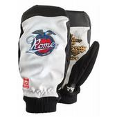 Rome Shred Life Snowboard Mitts White
