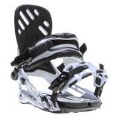 Rome Targa Snowboard Bindings White
