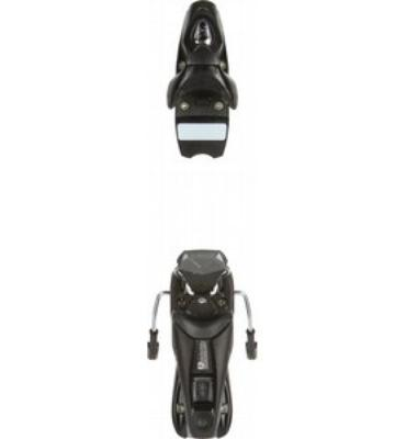 Rossignol Axium 100 Ski Bindings Dark Grey Brush