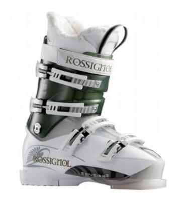 Rossignol B Pro 90 Sensor3 Ski Boots White/Green