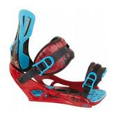 Rossignol Cage V2 Snowboard Bindings Red/Blue