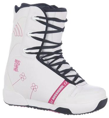 Rossignol Dusk Snowboard Boots White/Red - Women's