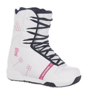 Rossignol Dusk Snowboard Boots White/Red