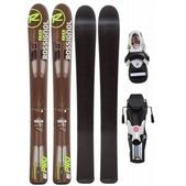 Rossignol Experience Pro Jr Skis w/ Comp Kid Bindings Black/White