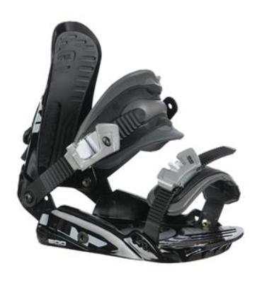 Rossignol HC500 Snowboard Bindings Black/Silver