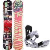 Rossignol Rocknrolla Amptek Snowboard w/ Sapient Stash Bindings