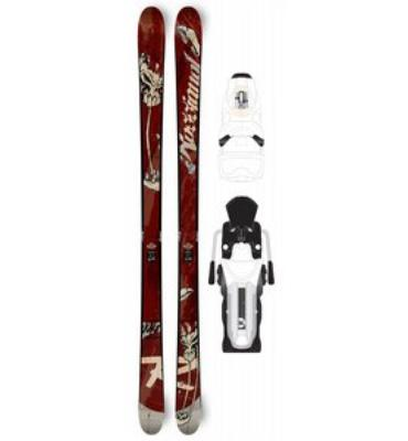 Rossignol S4 Squindo Skis w/ SAS2 TI 140 Wide Bindings