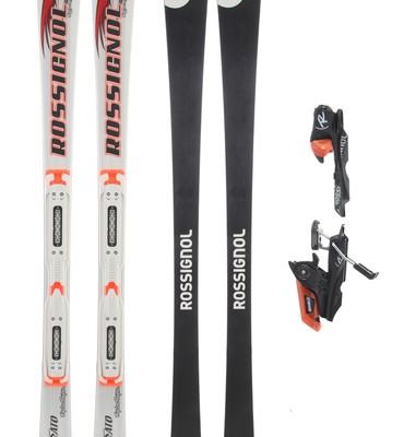 Rossignol Strato 70 LTD TI Tpi2 Skis w/ Axial 120S Bindings - Men's