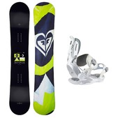 Roxy Eminence C2 BTX Rock-It Roll Womens Snowboard and Binding Package