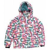 Roxy Hopscotch Girl's Snowboard Jacket White Special Blend