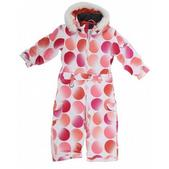 Roxy Rally Girl's One Piece Snowboard Jacket Pink Bitmpa Dots