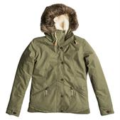 Roxy Women's Steffi JK Trench Jacket Dusty Olive