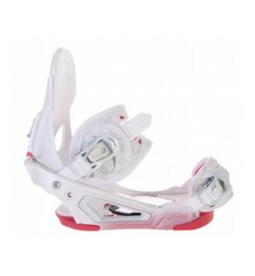 Salomon Absolute Pure Snowboard Bindings White
