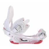 Salomon Absolute Pure Snowboard Bindings White 2011 - Women's