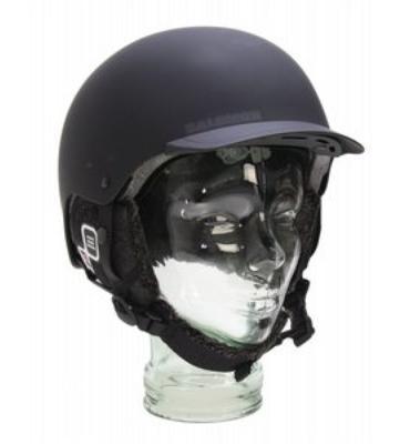 Salomon Brigade Audio Snowboard Helmet Matte Black