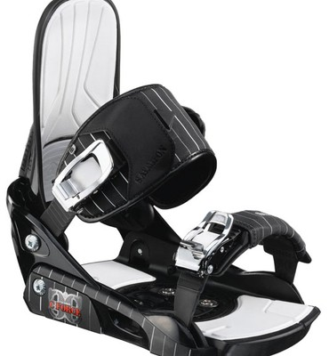 Salomon C Force Snowboard Bindings Black/White - Men's
